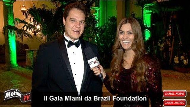 Alexandre Piquet (Piquet Law Firm) fala sobre a BrazilFoundation no II Gala Miami