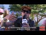 Entrevista - David Correy promete música em Português e vídeo clipe c/ fãs - Will sing in Portuguese