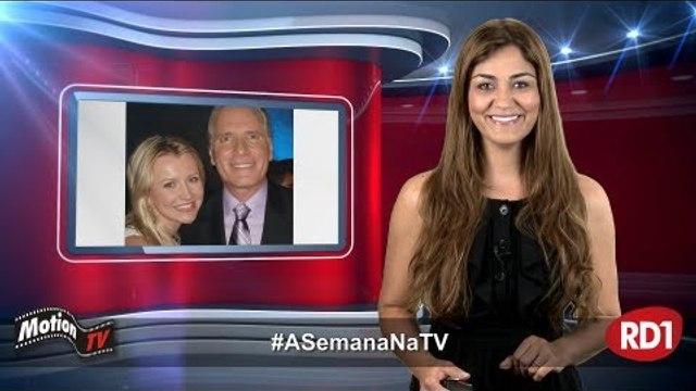 #ASemanaNaTV: Roberto Justos está de namorada nova; Vídeo Show c/ novos apresentadores