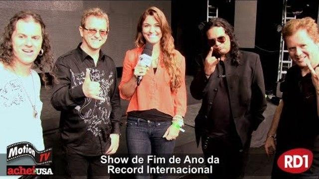 Edinho Santa Cruz e Banda - Show de Fim de Ano Record Internacional - Brazil Celebration (entrevita)
