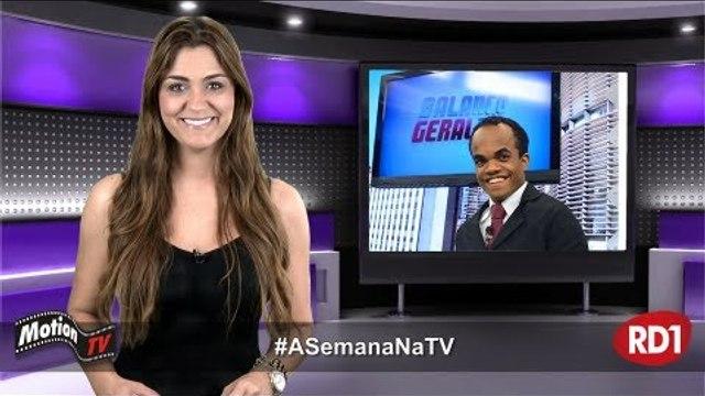 """#ASemanaNaTV: Anão Marquinhos é disputado por programas da Record; Thammy dançará """"Conga"""""""