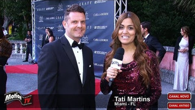"David Hertz fala sobre o projeto ""Gastromotiva"" no II Gala Miami da BrazilFoundation"