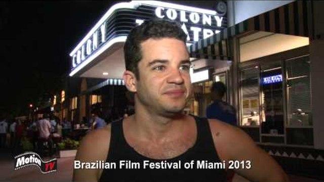 """Entrevista: Thiago Mendonça - """"Somos Tão Jovens"""" no Brazilian Film Festival of Miami 2013"""