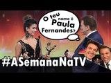 SILVIO SANTOS não lembra de PAULA FERNANDES; RODRIGO FARO no Troféu Imprensa - Ep10 #ASemanaNaTV