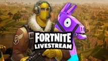Fortnite Week 8 Battle Royale Challenges | GameSpot LIVE Replay