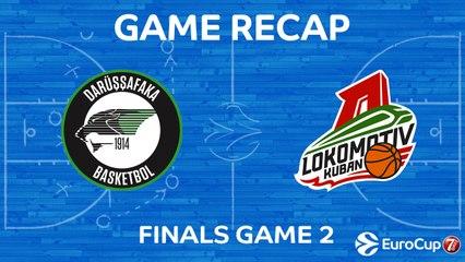 7DAYS EuroCup Highlights: Darussafaka 67-59 Lokomotiv