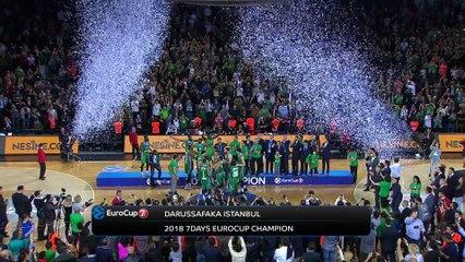 7DAYS EuroCup Finals: Trophy delivery!