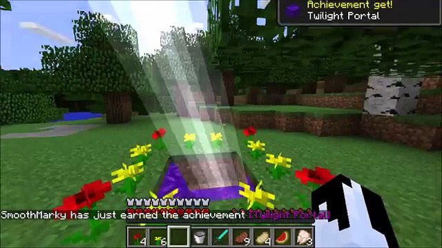 Minecraft How To Make A Portal To The Twilight Forest - Portal To The  Twilight Forest!!!