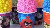 Colors Play Foam Surprise Eggs Toys Disney Frozen Paw Patrol Learn Colors Kids Toddlers Children