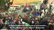 Soweto pays final respects to anti-apartheid icon Winnie Mandela