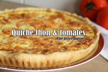 #LGDK : Quiche Thon et Tomates