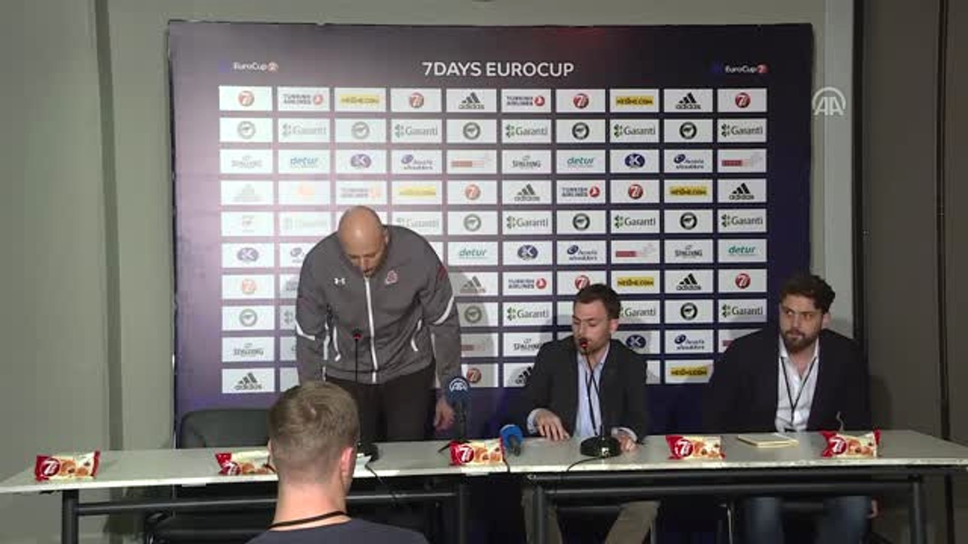 Darüşşafaka-Lokomotiv Kuban Maçının Ardından - Sasa Obradovic