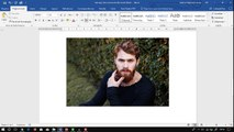 Como remover fundo de uma imagem no Word e salvar a imagem como PNG (fundo transparente)