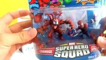 Playskool Marvel Super Hero Adventures Spider Man, Venom y Carnage