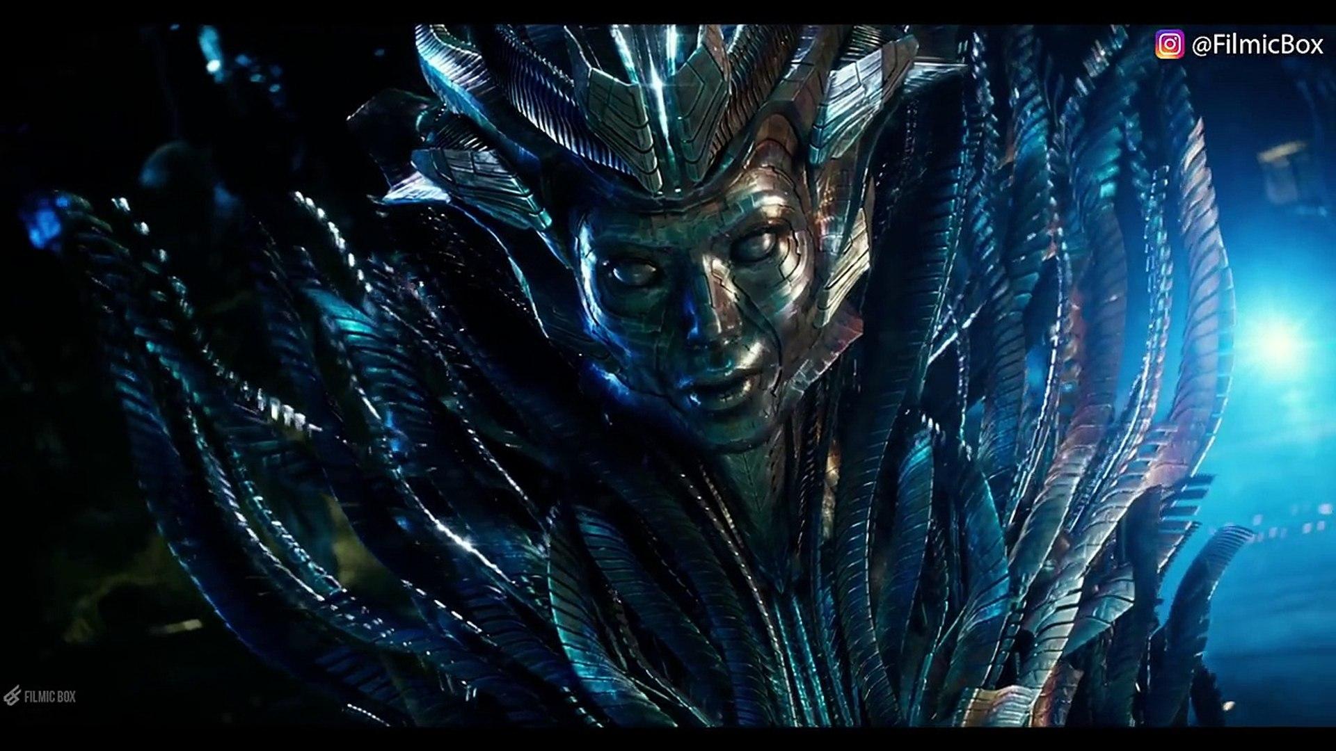 Optimus Prime Meets Quintessa Transformers The Last Knight 2017 Movie Clip Video Dailymotion