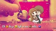 Sanu Ek Pal Ek chain Rahat Fateh Ali Khan WhatsApp status  Lyrics video  Valentines week special