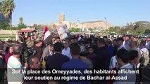 Frappes en Syrie: réactions d'habitants de Damas