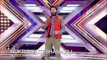 MUERTE DE FREDDY MERCURY de mano de un cantante Georgiano - Primeras Actuaciones Factor X 2018