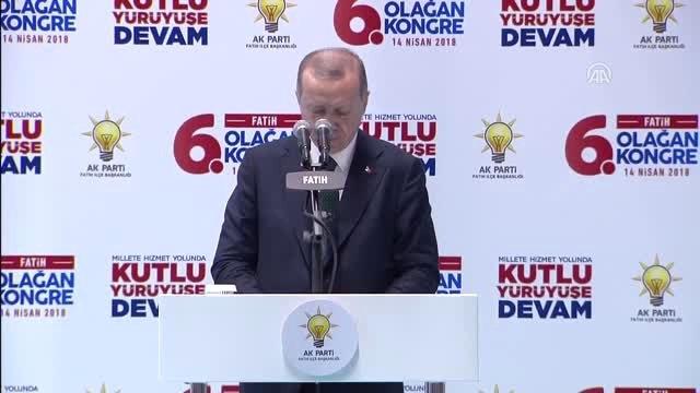 """Cumhurbaşkanı Erdoğan: """"Ak Partinin En Önemli Özelliği Geçmiş Örneklerinin Aksine Hep Yapmanın,..."""