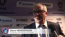 France - Rep tchèque à l'Aren'Ice, réactions de Dave Henderson