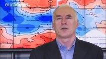 Al menos 10 muertos en Europa por la ola de frío siberiano