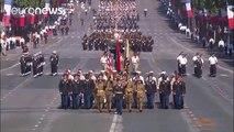 El comandante en jefe Donald Trump quiere su desfile militar