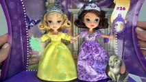 Princess Sisters Dolls Princess Sofia Princess Amber Dolls Toys Play Doh Toy Unboxing