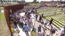 MH17: homenajes y peticiones de justicia tres años después de la tragedia