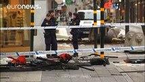 La policía sueca cree que uno de los dos detenidos es el autor del ataque en el centro de Estocolmo