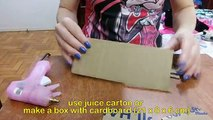 How to make a Chaise Longue sofa for doll Monster High, Barbie, etc
