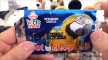 2016 ARBYS PET SHOP KIDS MEAL TOYS V McDONALDS THE SECRET LIFE OF PETS MOVIE HAPPY MEAL TOYS SET 7