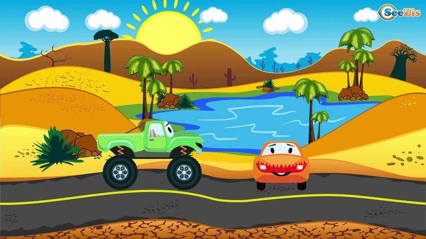 СБОРНИК: Мультфильмы про Машинки - Эвакуатор помогает машинкам - Мультики для детей
