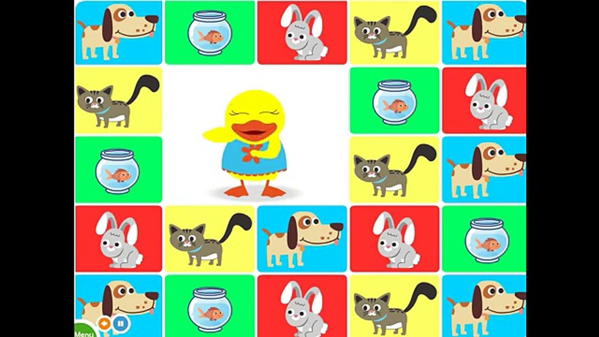 Pet animal ivity and song for children full Educational video for babies and toddlers
