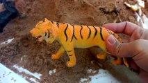 Zoo Animal Toy Surprise Hidden In Sand/Dump Truck /Safari Ltd Schleich Wild Animal Toys