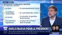 Quelles thématiques seront abordées lors de l'interview d'Emmanuel Macron