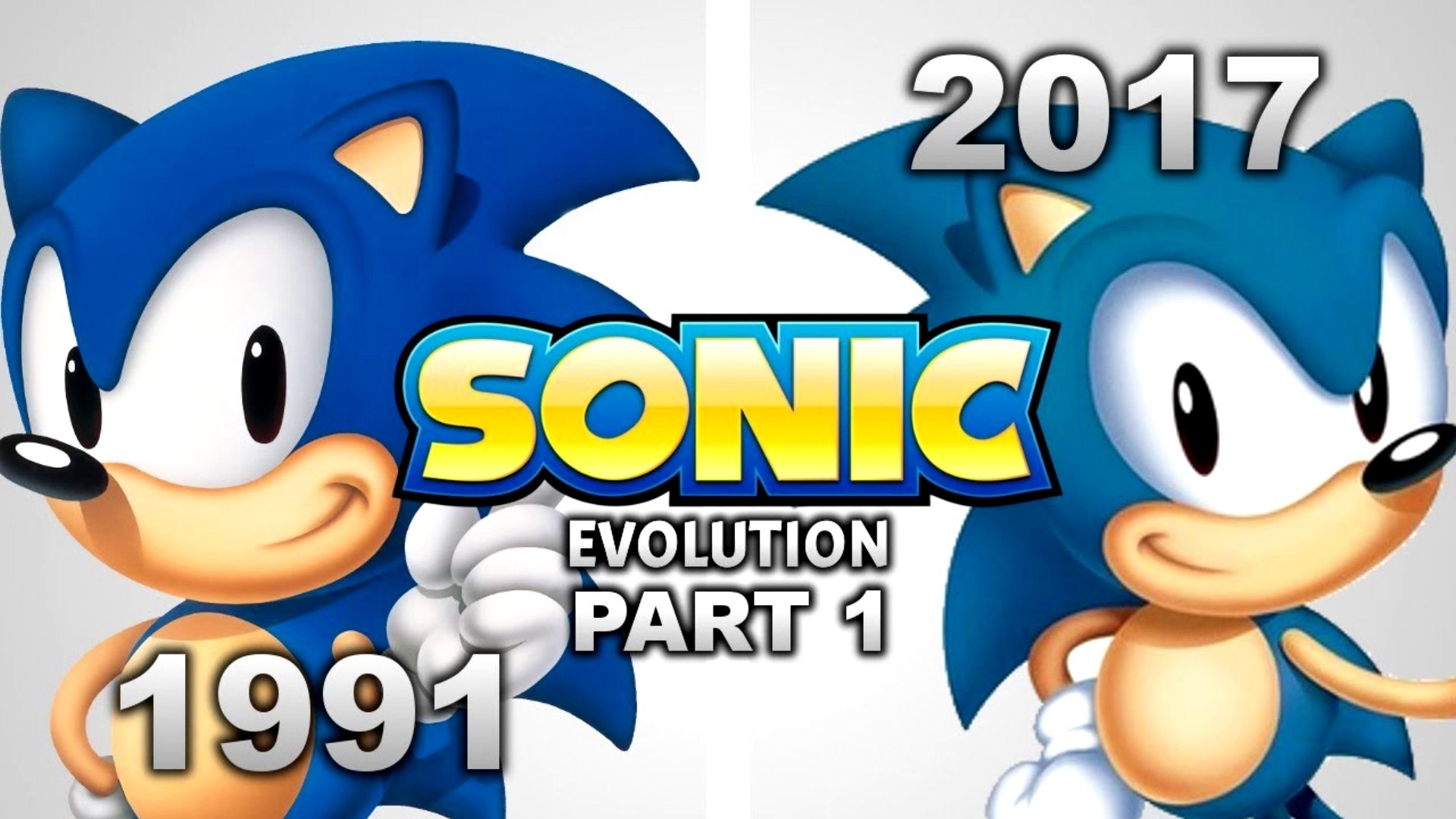 Evolution Of Sonic The Hedgehog Games Part 1 1991 1996