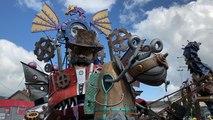 Les Skizo Carnaval ouvre le défilé du Carnaval
