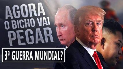 USA x RUSSIA - COMEÇOU A TERCEIRA GUERRA MUNDIAL