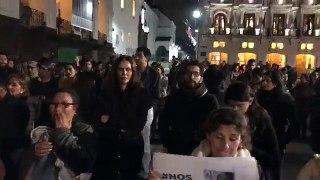 EN VIVO Desde la Plaza Grande en una vigilia de solidaridad