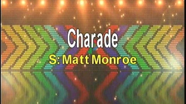 Matt Monro Charade Karaoke Version