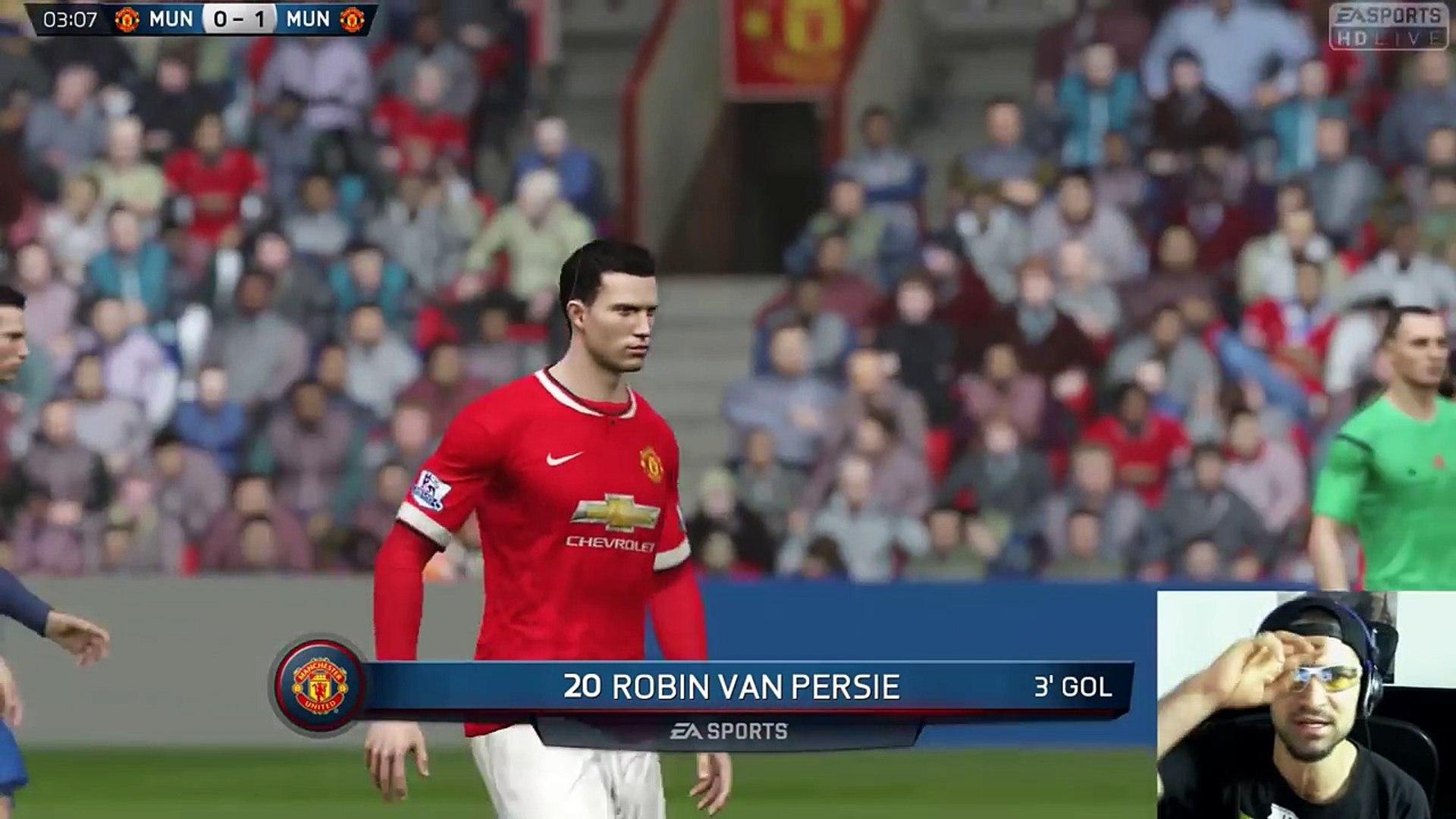 FIFA 15 ONLINE - Manchester United VS Manchester United - Partido de Temporada - PS4 Gameplay