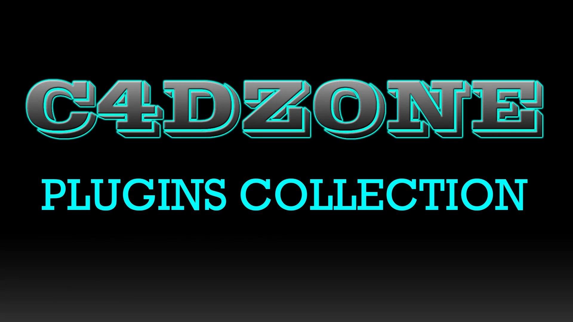 cinema 4d plugins collection  C4DZone Complete Col