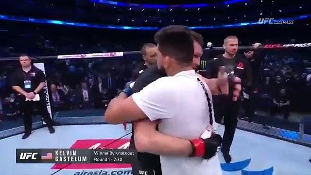 UFC Shanghai: Victoria de Kelvin Gastelum