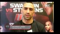 UFC Fight Night San Antonio: Ricardo Lamas Entrevista Previa
