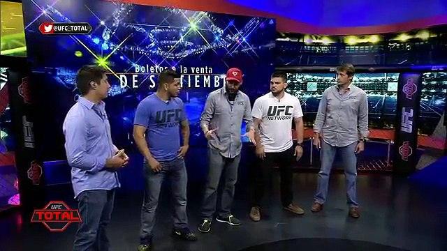 UFC Total: Entrevista a Kelvin Gastelum y Efraín Escudero