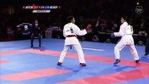BRONZE. (2/3) Female Team Kumite USA vs ECU. 2016 World Karate Championships