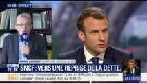 """Emmanuel Macron dans """"l'arrogance"""" pour Pierre Laurent (PCF) face à la colère des cheminots"""