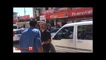 Sokak ortasında çatışma çıkan Tunceli'de polis, atılan kovaya havaya ateş açarak karşılık verdi!