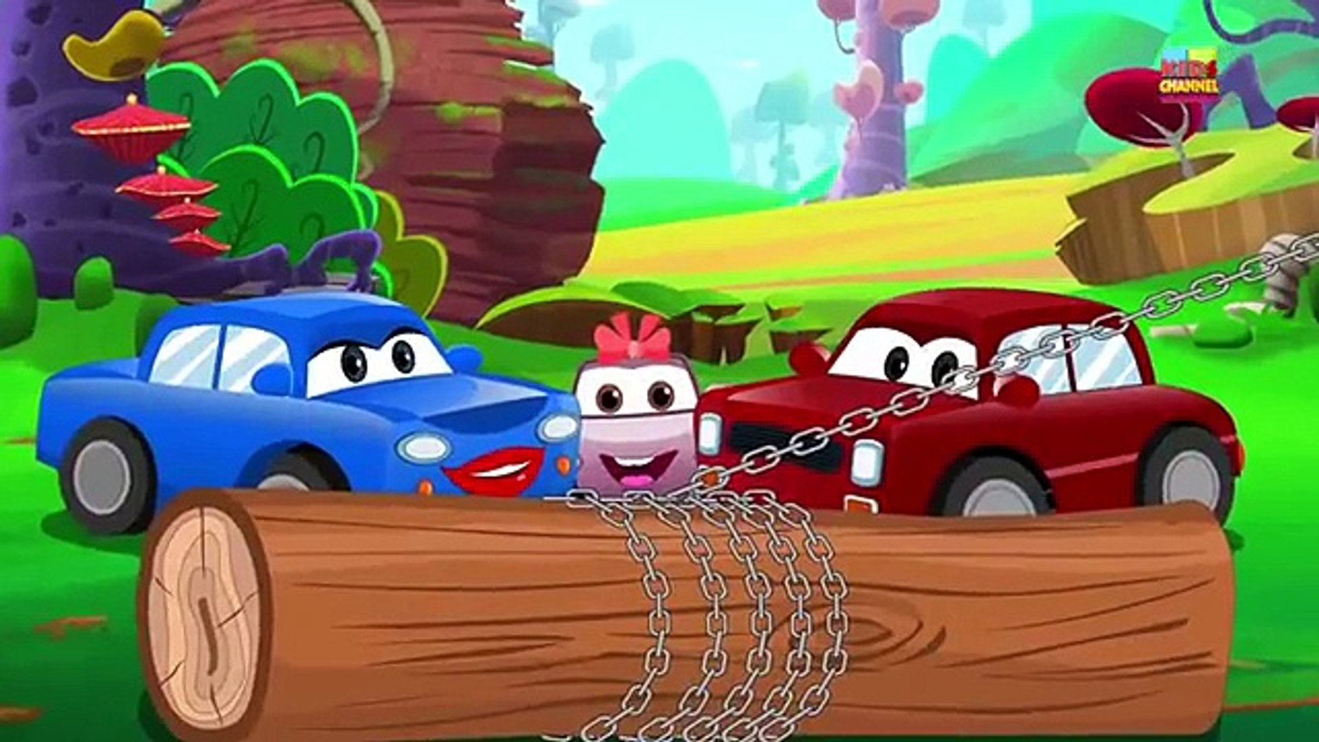 Christmas Song | Super Car Royce | Kids Show | Cartoon Video For Children by Kids Channel