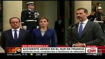 Felipe VI expresa su gratitud con Francia